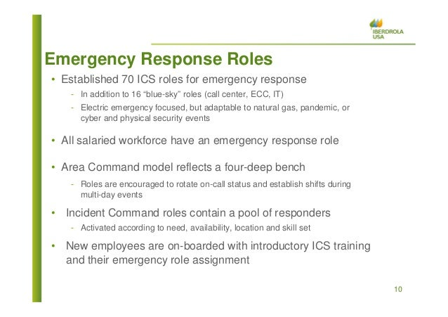 Emergency Preparedness Implementing An Incident Command