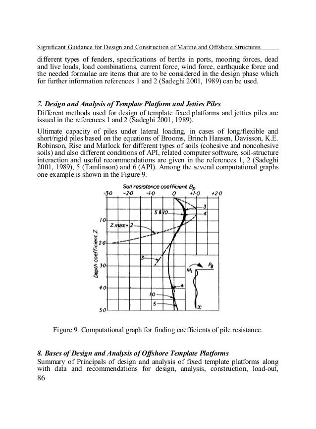 Significant Guidance for Design and Construction of Marine