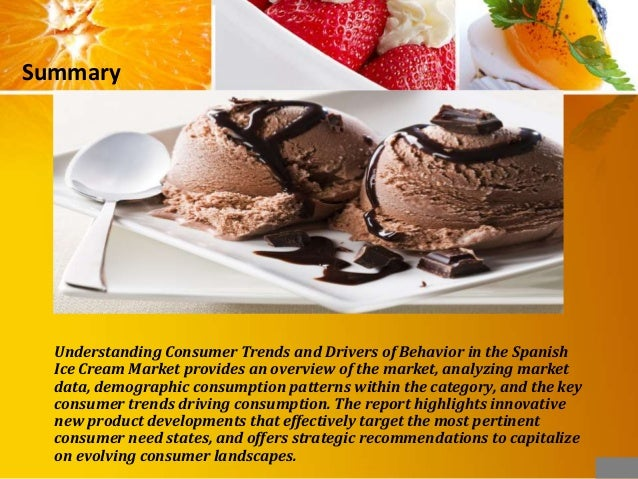 Consumer and Market Insights: Ice Cream Market in Thailand