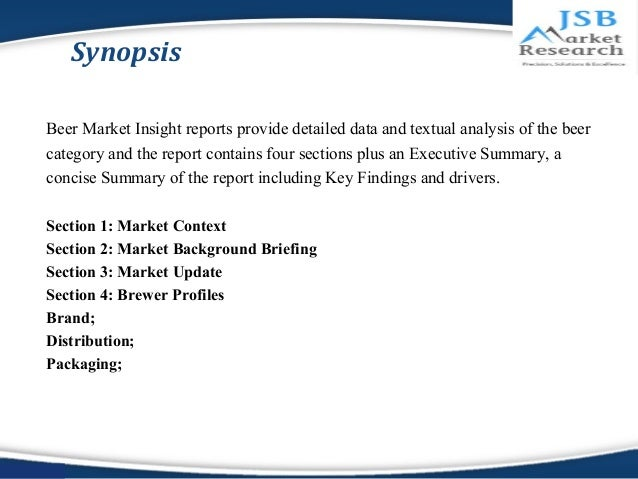 JSB Market Research : Beer Market Insights Malaysia Slide 3