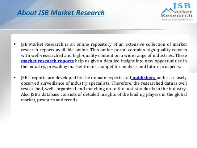 jsb market research ict investment trends Ict investments contents education  experienced research analysts helped us gain insights on market trends and  i contacted big market research to help plan.