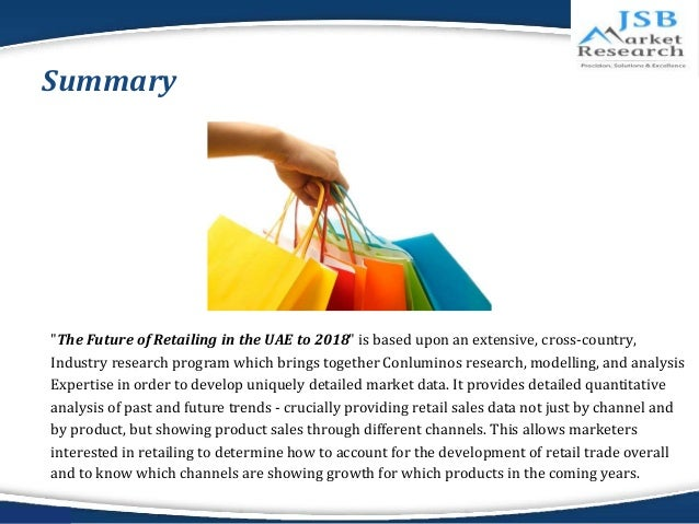 an overview of the future of traditional retailing With brick-and-mortar stores closing at a rapid pace, and e-commerce expected to reach 15% of all retail sales by 2020, retailers (both traditional and.