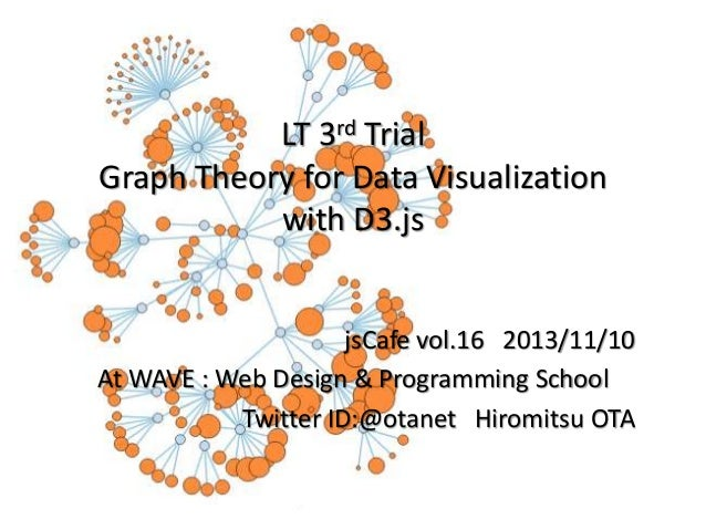 LT 3rd Trial Graph Theory for Data Visualization with D3.js  jsCafe vol.16 2013/11/10 At WAVE : Web Design & Programming S...