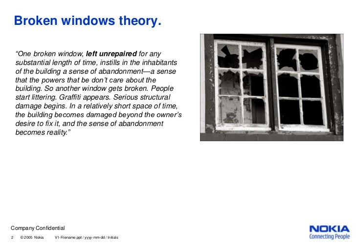 Broken windows theory