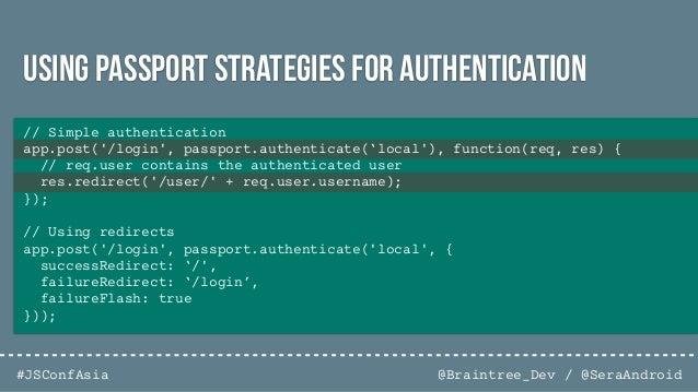 @Braintree_Dev / @SeraAndroid#JSConfAsia NSPnodesecurity.io/tools
