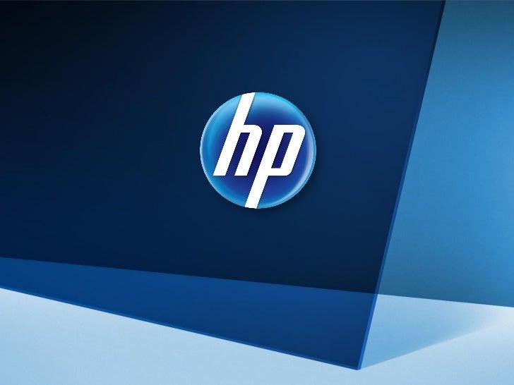 1   © 2011 Hewlett-Packard Development Company, L.P.