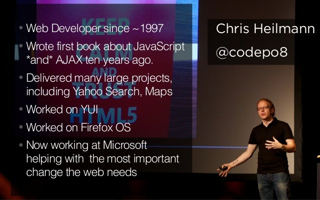 Breaking out of the endless callback look - #jsday Italy keynote Slide 3