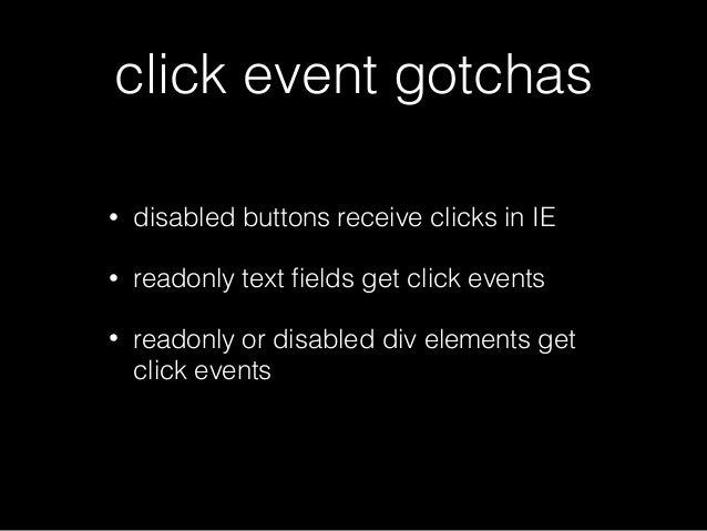 The Fine Art of JavaScript Event Handling