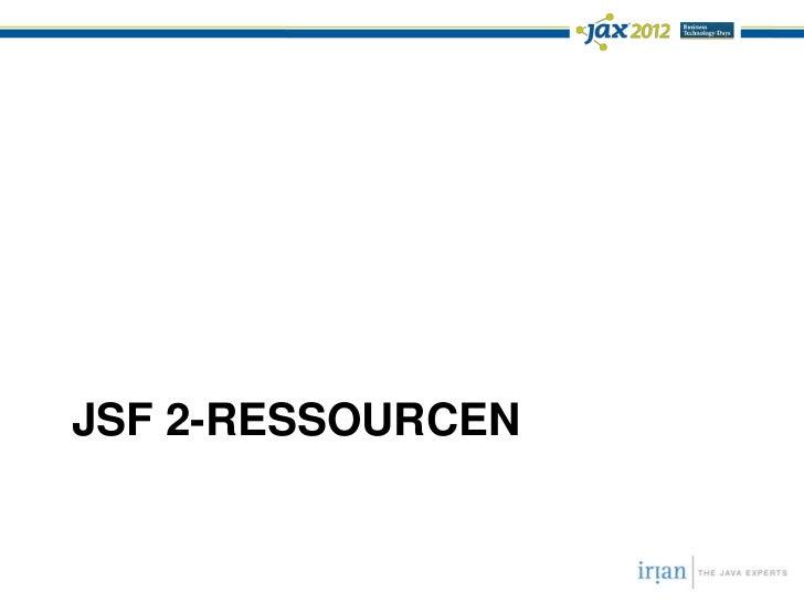 JSF 2 Kompositkomponenten (JAX 2012)