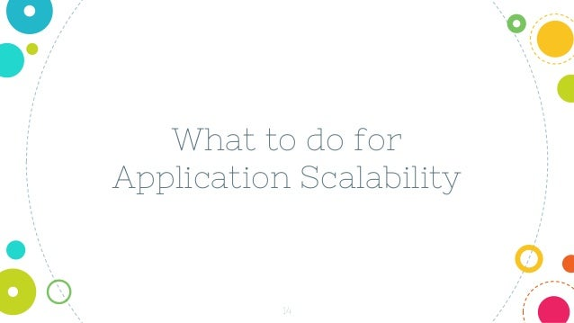 14 What to do for Application Scalability