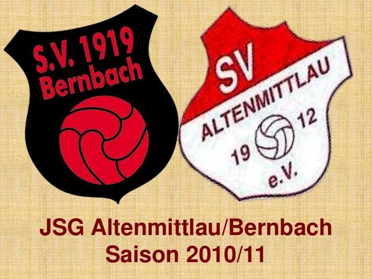 JSG Altenmittlau/BernbachSaison 2010/11<br />