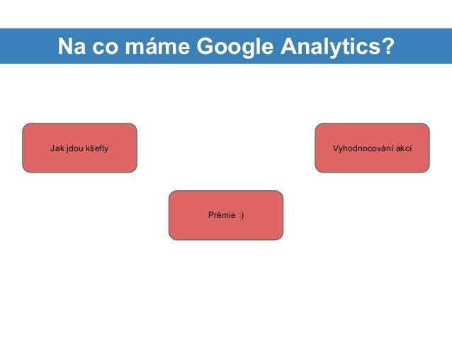 Zkušenosti s Google Analytics ve SportObchod.cz - Adam Jurák Slide 3