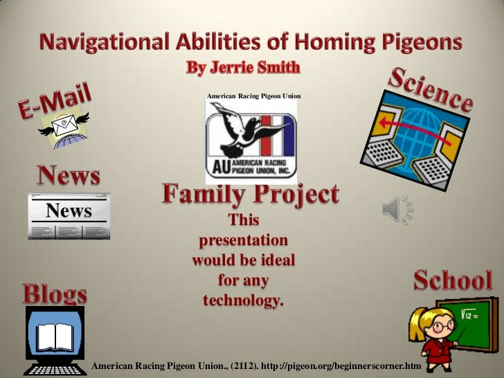 American Racing Pigeon Union                            This                        presentation                       wou...
