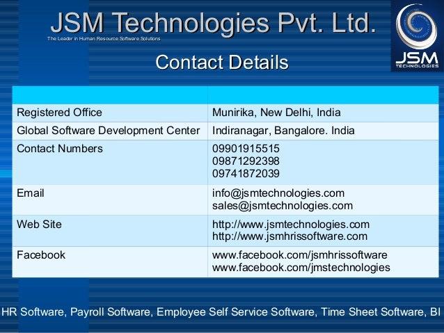 JSM Technologies Pvt Ltd Company Profile