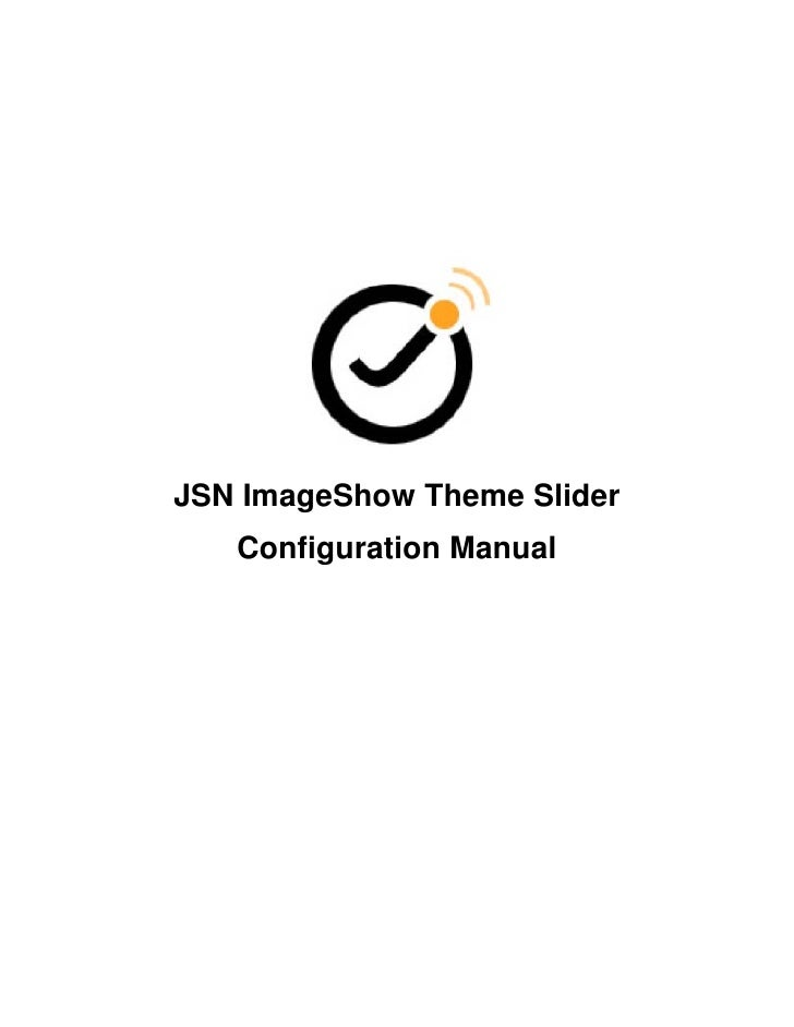 JSN ImageShow Theme Slider   Configuration Manual