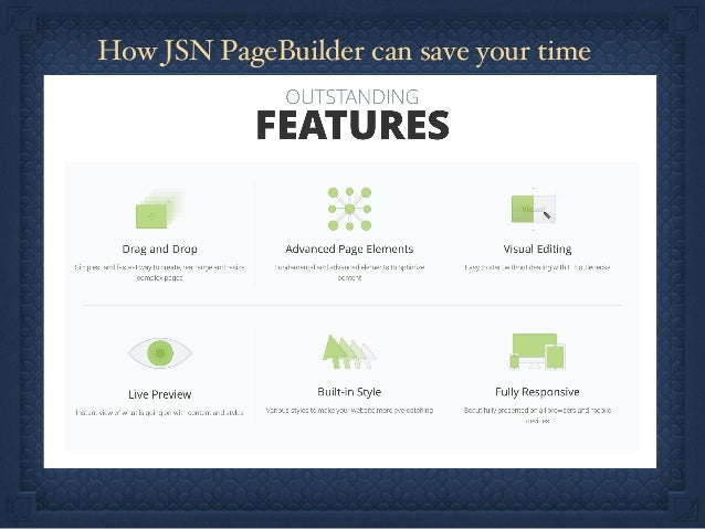 How JSN PageBuilder can save your time