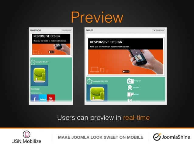Preview! Users can preview in real-time!