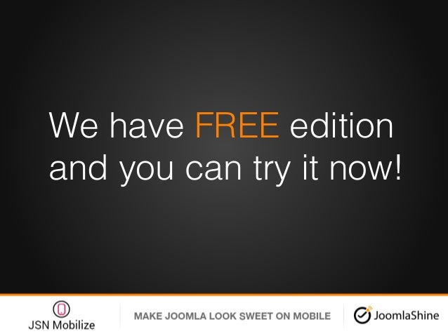 We have FREE edition and you can try it now!!