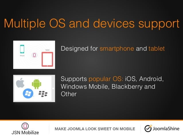 Multiple OS and devices support! Designed for smartphone and tablet! ! Supports popular OS: iOS, Android, Windows Mobile, ...