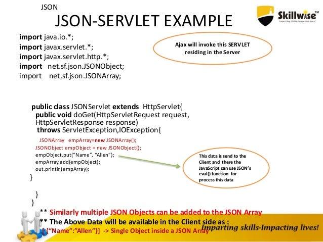 JSON-(JavaScript Object Notation)
