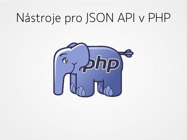 Nástroje pro JSON API v PHP