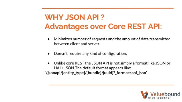 Why JSON API?