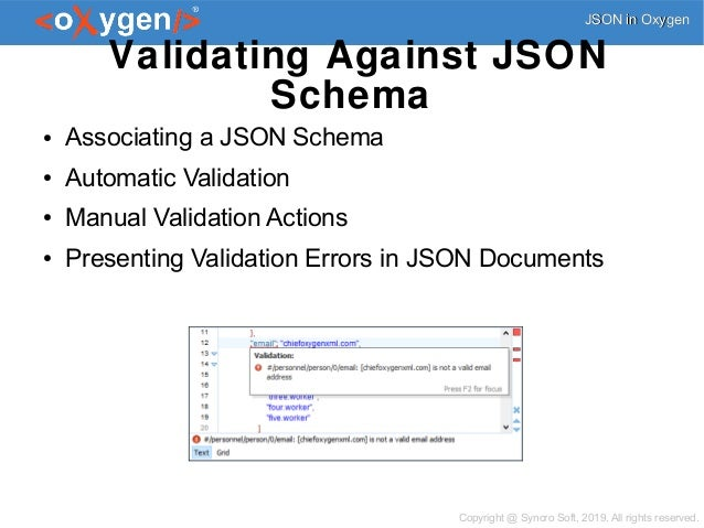 JSON Edit, Validate, Query, Transform, and Convert