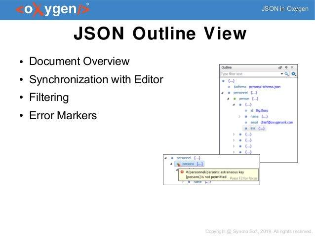 JSON Edit, Validate, Query, Transform, and Convert