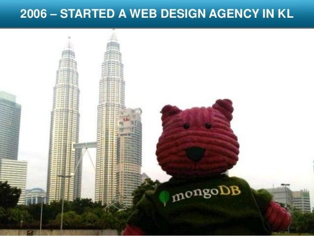 2006 started a web design agency in kl