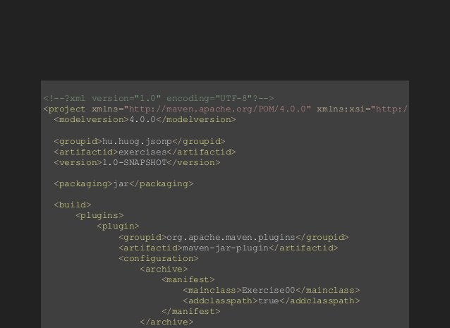 "<!?xmlversion=""1.0""encoding=""UTF8""?> <projectxmlns=""http://maven.apache.org/POM/4.0.0""xmlns:xsi=""http://www.w3. ..."