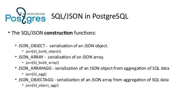 Oh, that ubiquitous JSON !