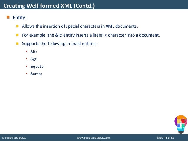 JSON and XML