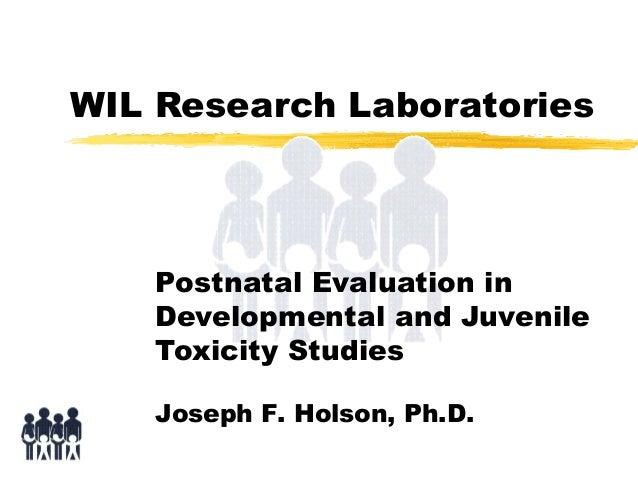 Postnatal Evaluation in Developmental and Juvenile