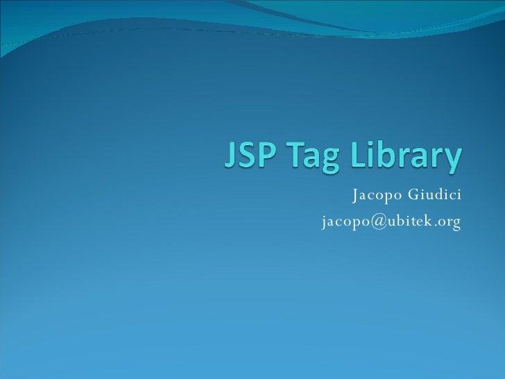 Jacopo Giudici [email_address]
