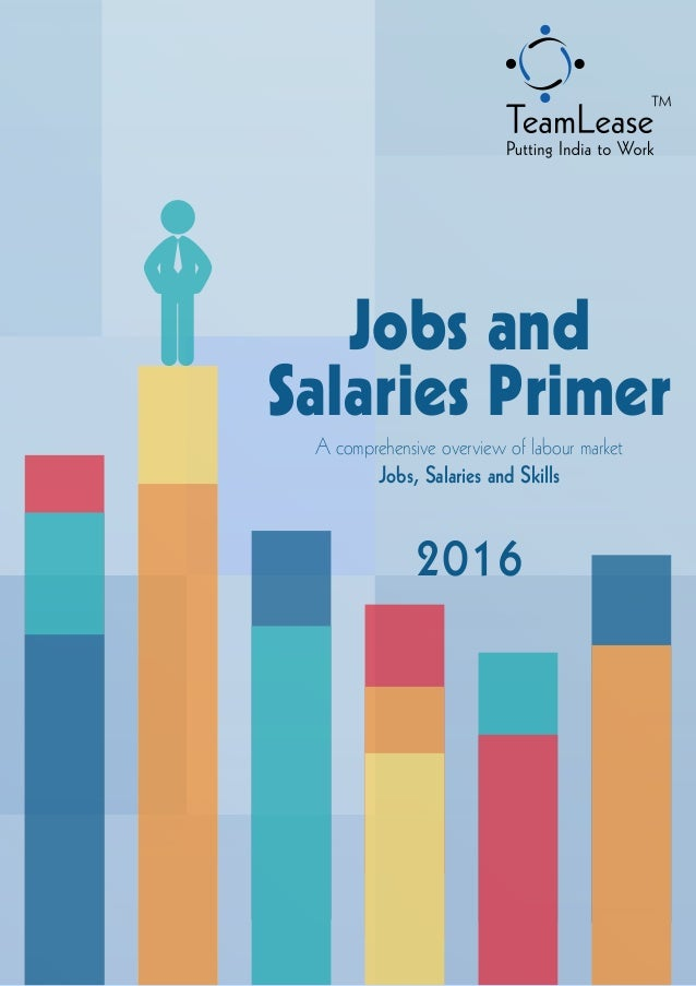 Jobs and Salaries Primer - 2016
