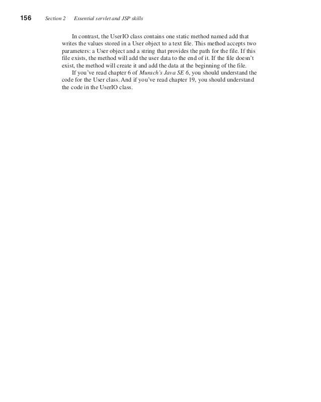 Murach's Java Servlets and JSP, 3rd Edition (Murach: Training