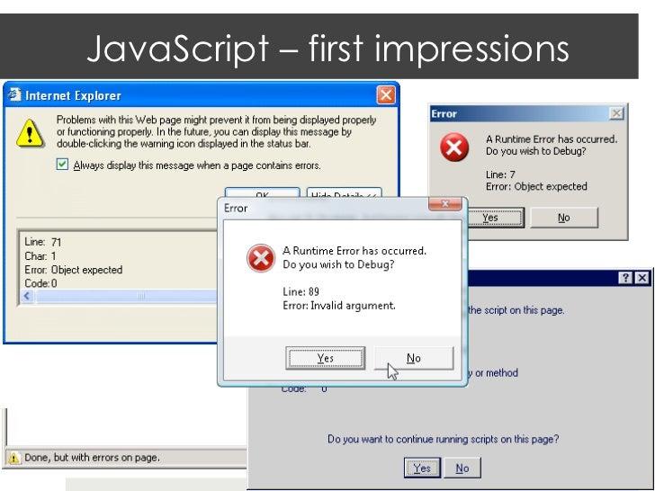 Java update microsoft jscript runtime error object - Rebuild file allocation table ...