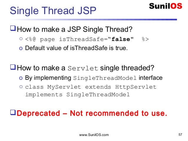 Issues with Integrity of Instance Variables in jsp/servlets