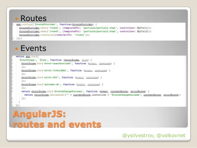Fast prototyping apps using AngularJS, RequireJS and Twitter