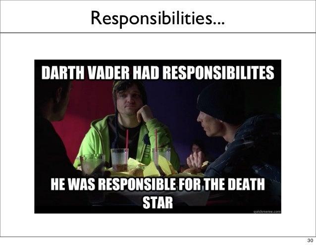 Responsibilities... 30
