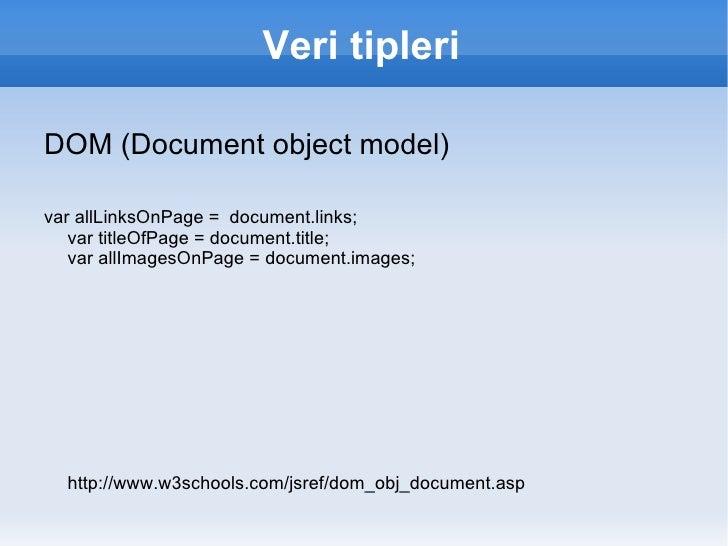 Sunucu tarafında : mod_js, nodejs (spidermonkey, v8)