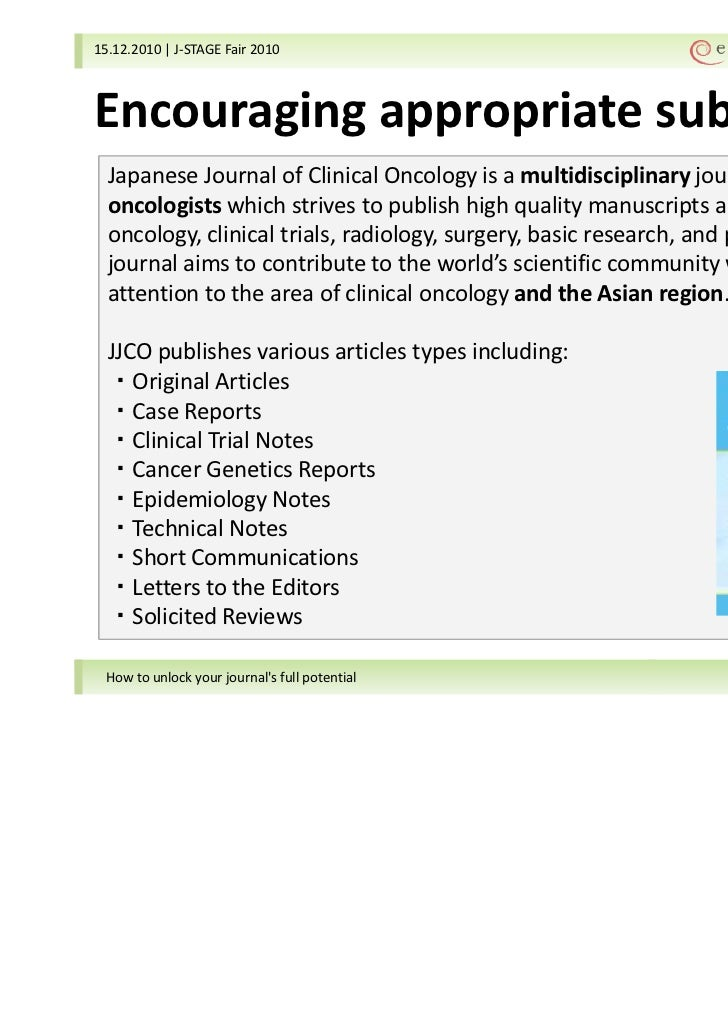 journal of clinical oncology instructions for authors