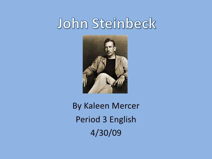 By Kaleen Mercer  Period 3 English      4/30/09
