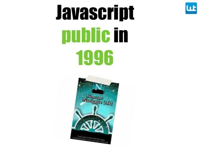 Javascript public in 1996