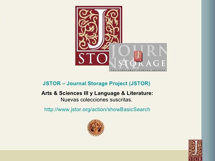 jstor journal storage
