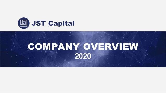 COMPANY OVERVIEW 2020