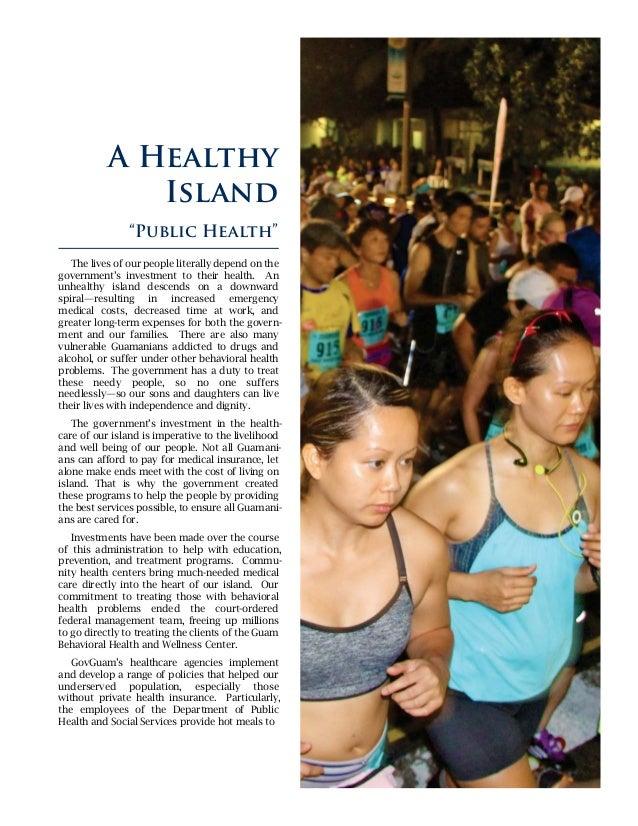 A Healthy Island U201cPublic Healthu201d; 40.