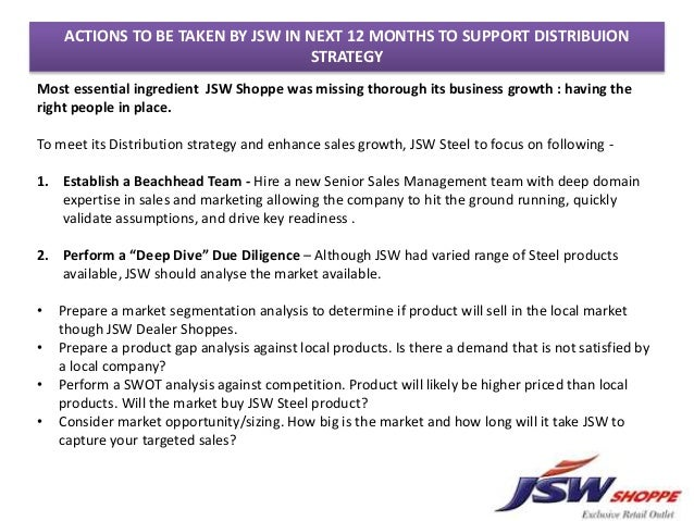 jsw shoppe case study ppt