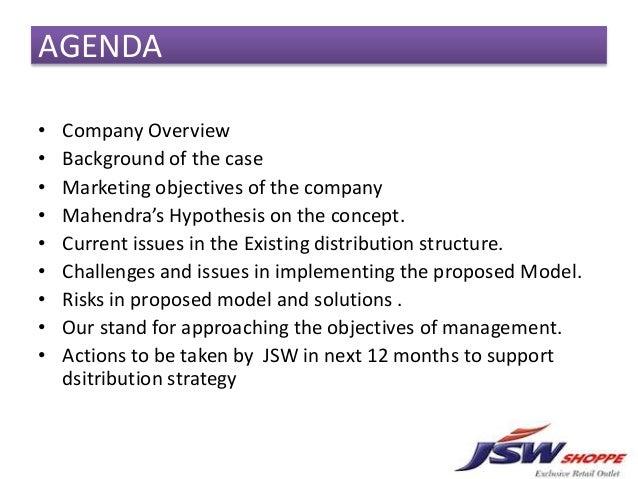 jsw shoppe case study solution
