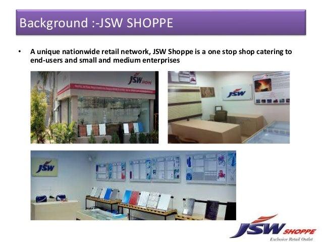 case study of jsw shoppe